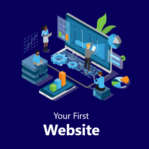 Your First Website Video Course