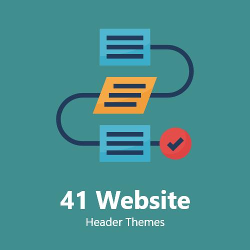 41 Website Header Themes